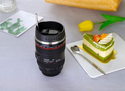 Triumphic Camera Lens Coffee Cup