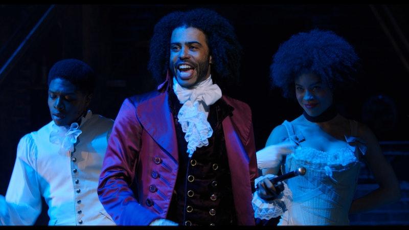 Daveed Diggs as Thomas Jefferson in 'Hamilton'