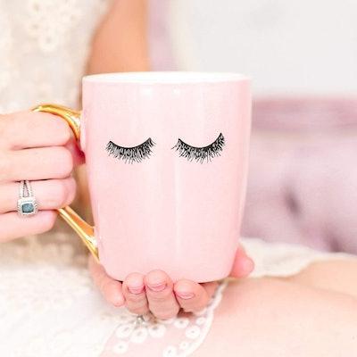 Sweet Water Decor Eyelashes Mug