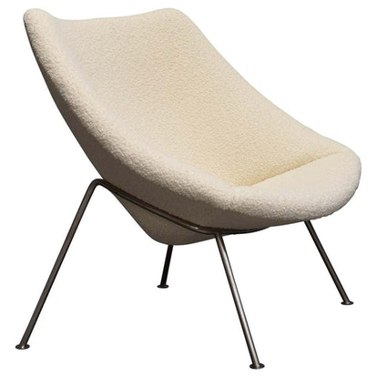 1st Edition Oyster Lounge Chair by Pierre Paulin