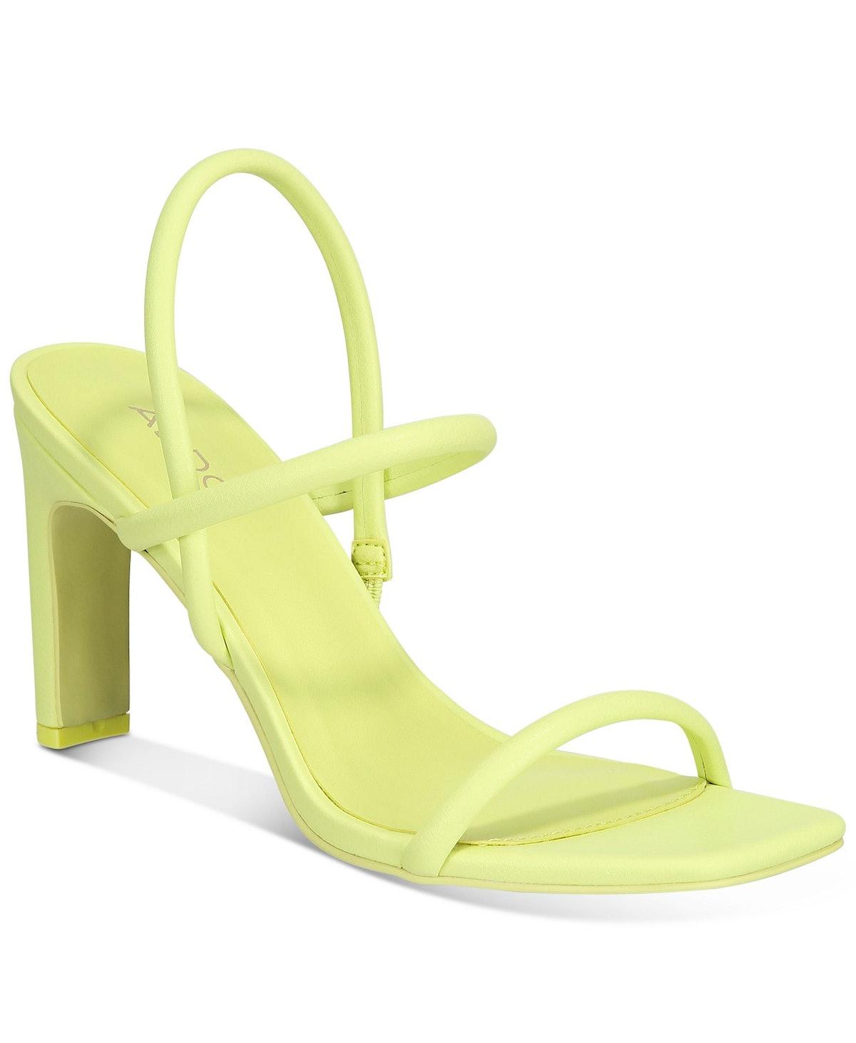 ALDO Women's Karla Square-Toe Barely There Dress Sandals