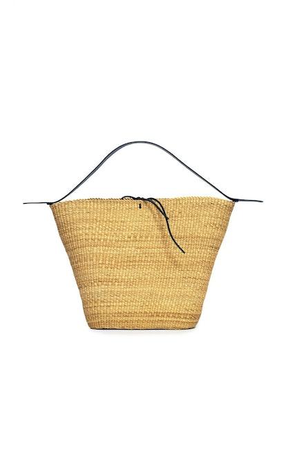 Grant Trepèze Straw Basket Bag