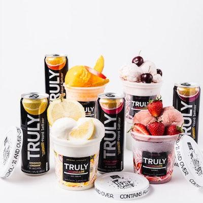 The Truly Lemonade Ice Cream + Sorbet Variety Pack