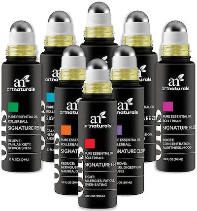 Artnaturals Essential Oil Rollerballs (8-Pack)