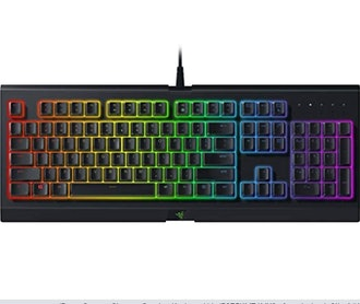 Razer Cynosa Chroma Gaming Keyboard: 168 Individually Backlit RGB Keys