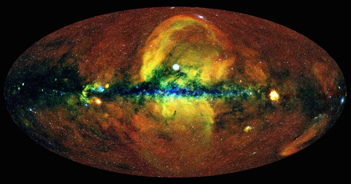 This is what the universe would look like if you had x-ray vision