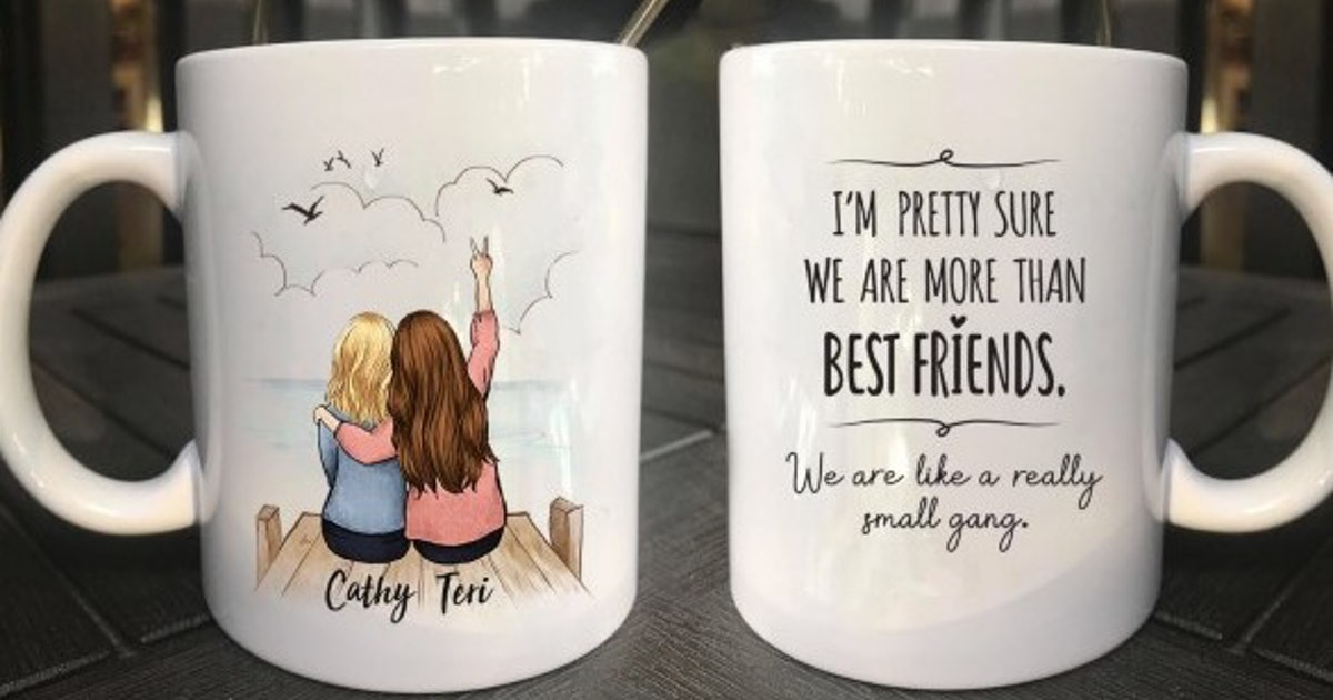This Personalized Best Friends Mug Is The Sweetest Way To Sip Your Coffee
