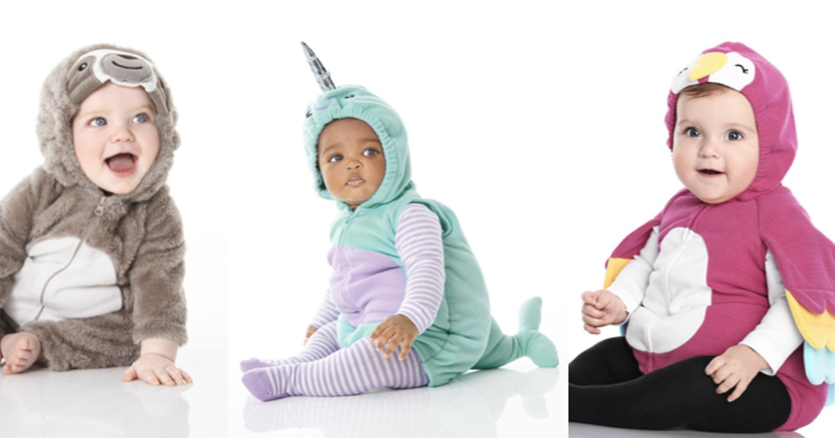 It Just Feels Like The Right Time To Dress Babies In $10 Carter's Halloween Costumes