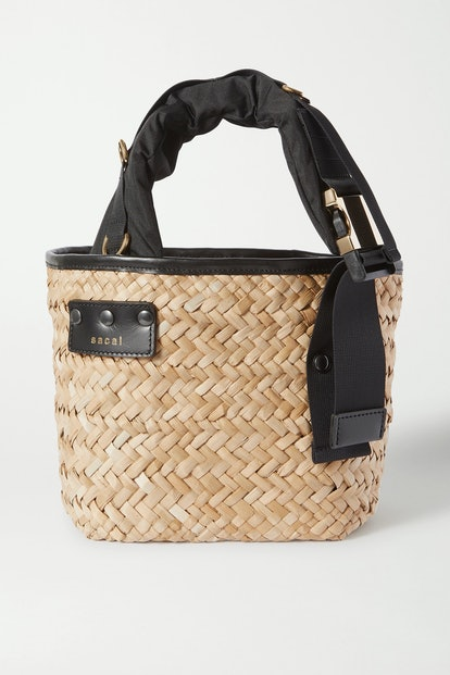 Shell Straw Tote