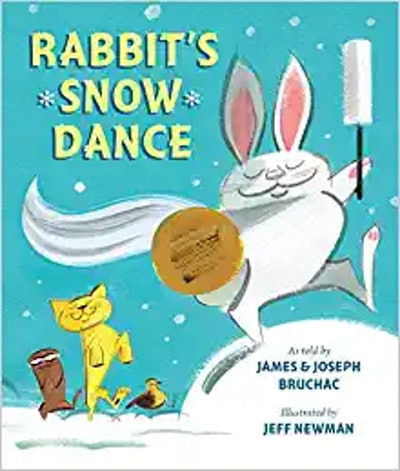 'Rabbits Snow Dance' by James and Joseph Bruchac