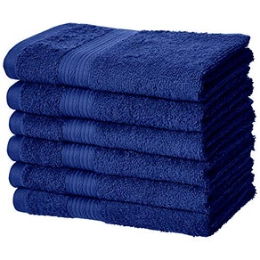 AmazonBasics Cotton Hand Towels (6-Pack)