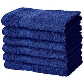 AmazonBasics Cotton Hand Towels (6-Pack)