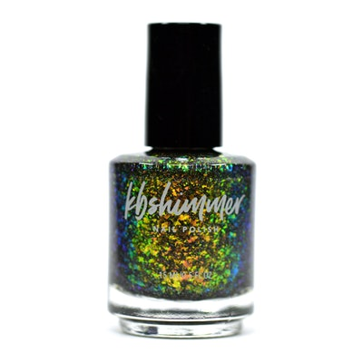 Hanging With My Grill Friends Flakie Nail Polish
