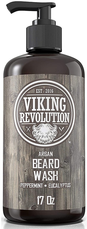 Viking Revolution Beard Wash Shampoo With Argan & Jojoba Oils