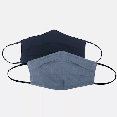 Universal Thread Navy Solid/Navy Chambray