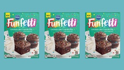 Pillsbury's iconic Funfetti cake mix finally comes in chocolate.