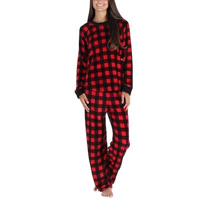 PajamaMania Women's Fleece PJ Set