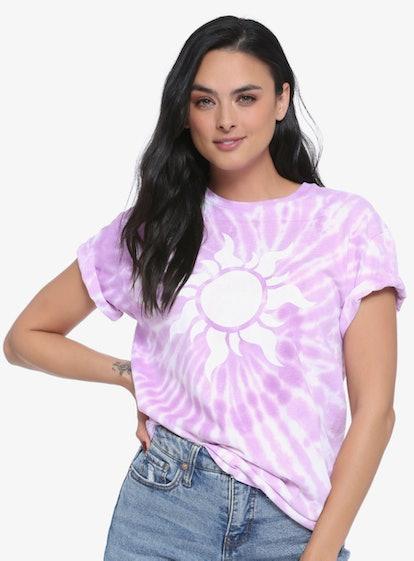 Disney Tangled Sun of Corona Tie-Dye Women's T-Shirt - BoxLunch Exclusive