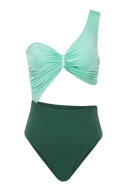 Two Tone Swimsuit