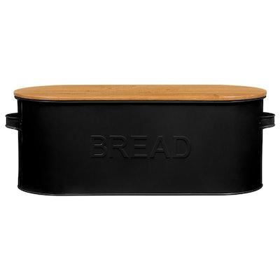 Russell Hobbs Oval Bread Bin - Black