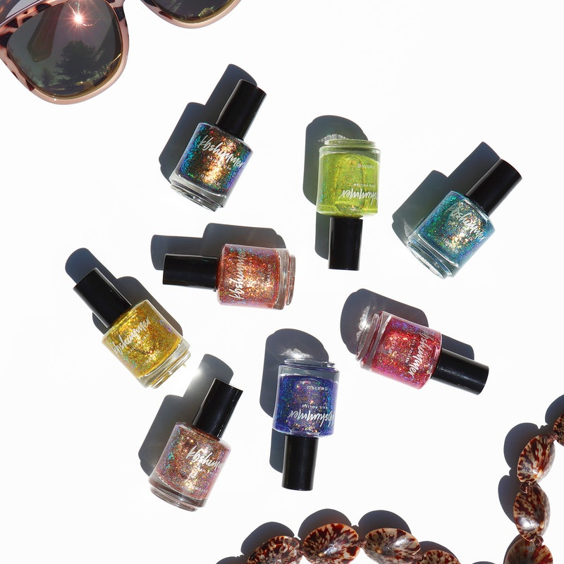KBShimmer's newest collection is full of ultra glittery nail polishes.