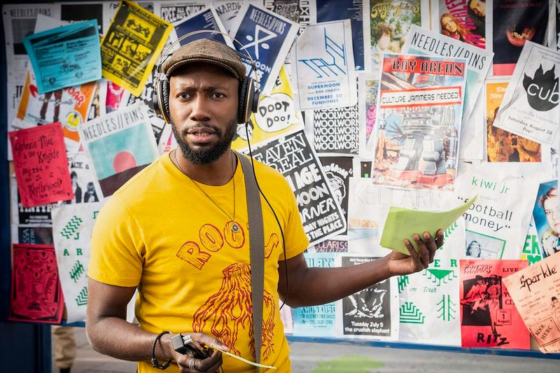 'New Girl' favorite Lamorne Morris stars in the trailer for Hulu's new comedy 'Woke.'