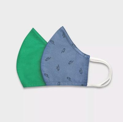 Cat & Jack Dino Green Masks