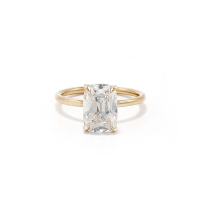 Bespoke Cushion Cut Ring
