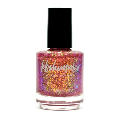 Anything Is Popsicle Flakie Nail Polish