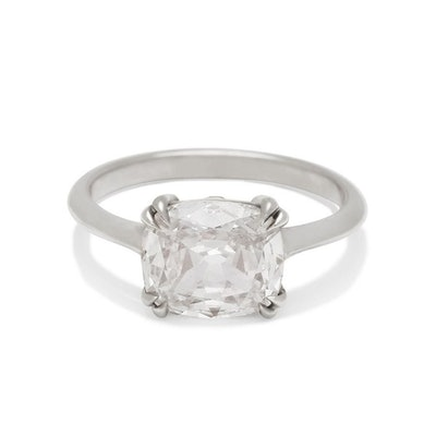 Bea East/West Solitaire Ring
