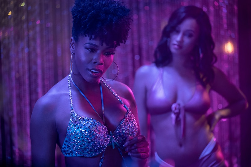 A still from Starz's 'P-Valley,' which is based on Katori Hall's 2015 play 'Pussy Valley.' (via the Starz press site)