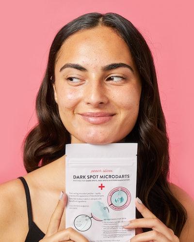 The new Dark Spot Microdarts help eliminate scarring and hyperpigmentation.