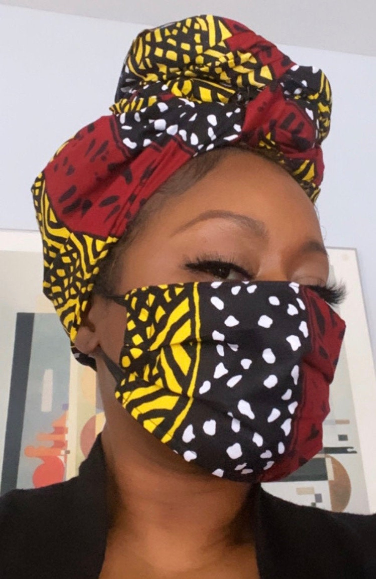 """Wrapped by Nellz the """"Wrap & Mask"""" filter"""