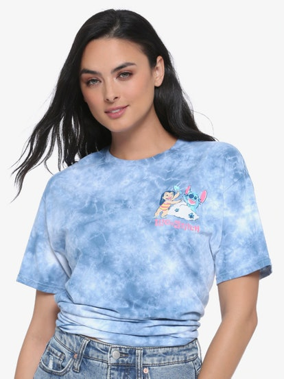 Disney Lilo & Stitch Paradise Tie-Dye Women's T-Shirt - BoxLunch Exclusive