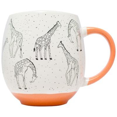 Animal Print Dip Mug - Giraffe