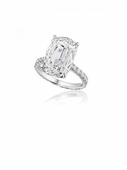 Antique Cushion-Brilliant Diamond Ring