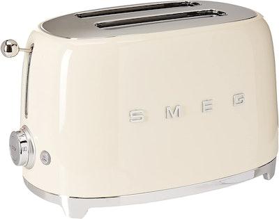 Smeg Retro Style 2 Slice Toaster (12.7 x 7.6 Inches)