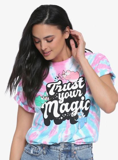 Disney Sleeping Beauty Trust Your Magic Tie-Dye Women's T-Shirt - BoxLunch Exclusive