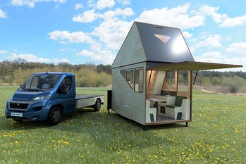 Haaks Opperland two-story camper.
