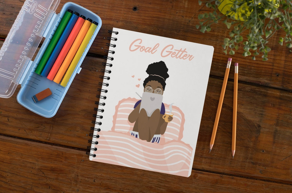 Goal Getter Spiral Journal