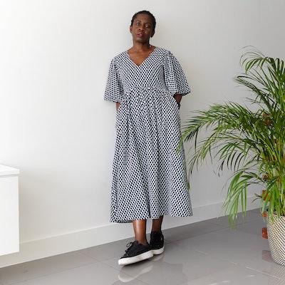 Yetti Check Dress