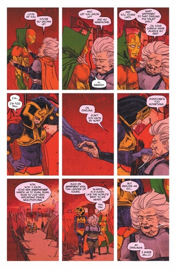Granny Goodness Mister Miracle