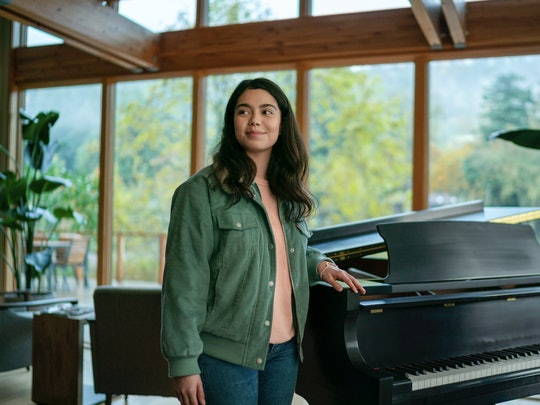 Auli'i Cravalho stars in the Netflix film All Together Now.