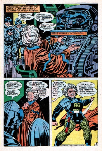 Granny Goodness New Gods