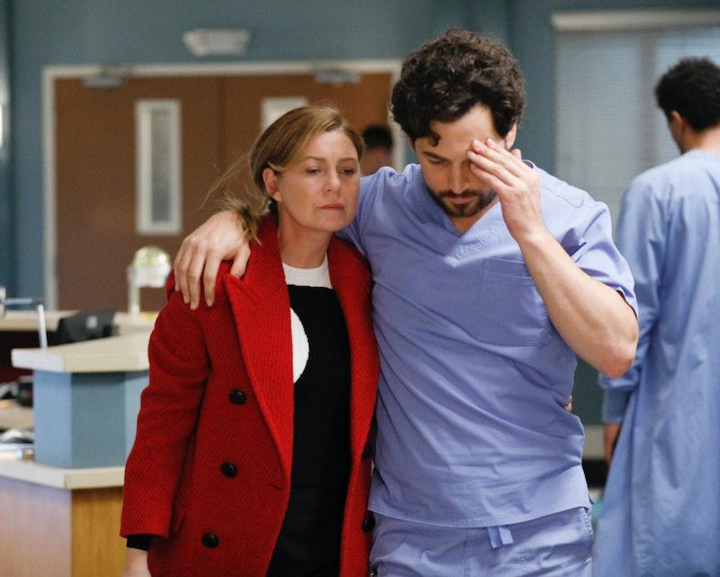 Giacomo Gianniotti teases Meredith and DeLuca's future on Grey's Anatomy.
