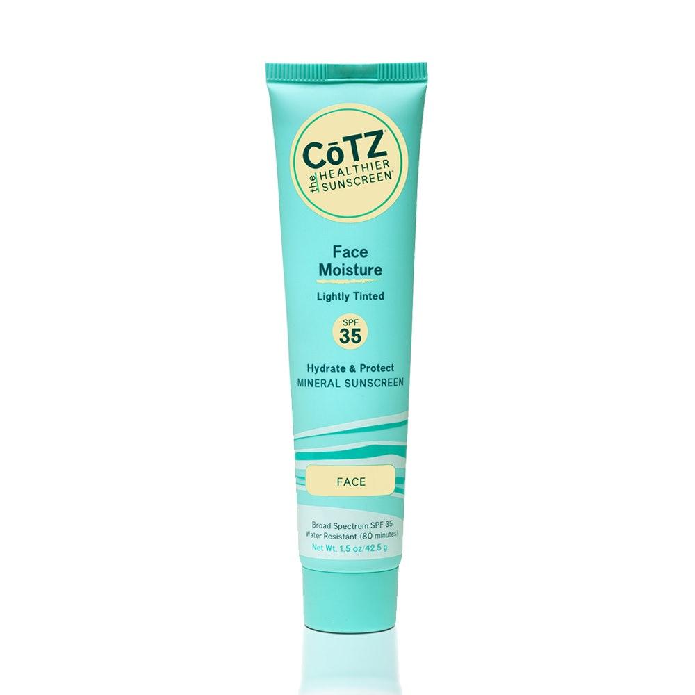 CoTz Face Moisture Lightly Tinted Sunscreen SPF 35