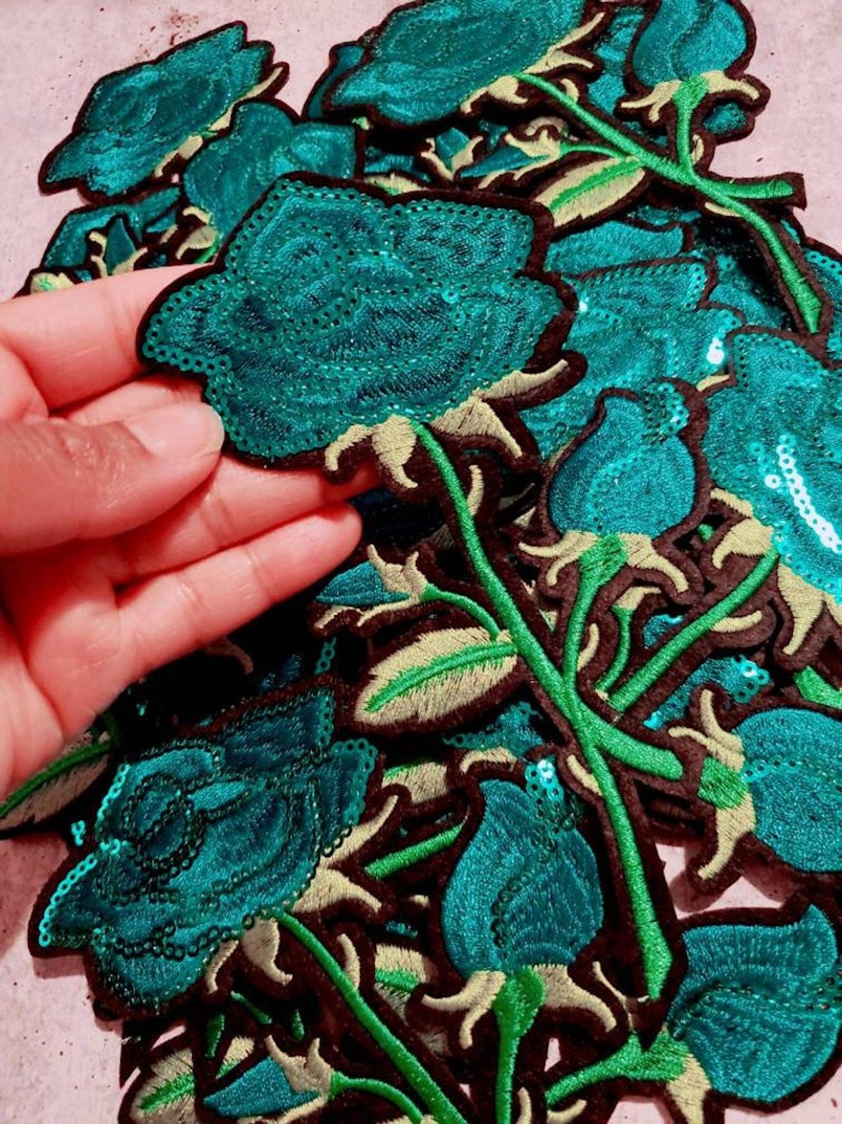 Sequins Flowers