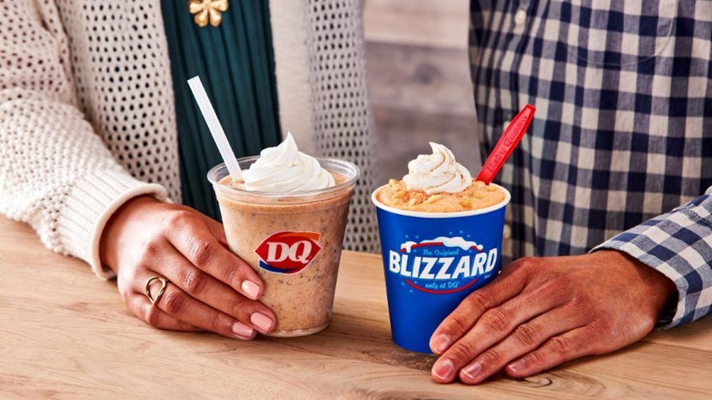 Dairy Queen's Pumpkin Pie Blizzard will be joined by another pumpkin-infused offering.