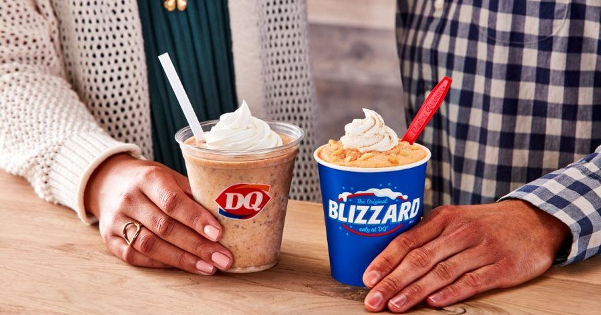 DQ Is Ushering In Fall With The Returning Pumpkin Pie Blizzard & A New Cookie Butter Shake