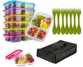 Kitchen Krush Meal Prep Containers (7-Pack)